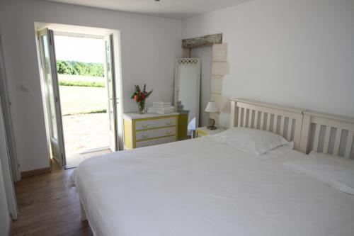 Downstairs bedroom with private entrance