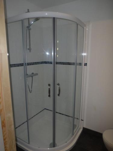 Downstairs en-suite shower