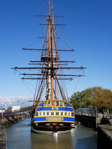 The frigate Hermione at Rochefort